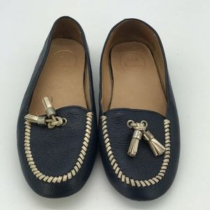 Jack Rogers Blue Loafers Size 7.5M
